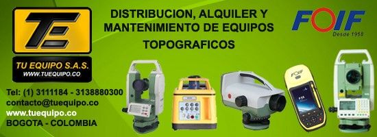 Equipos Topograficos Tu Equipo SAS, www.tuequipo