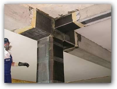 Reforzamiento estructural con fibra de carbono